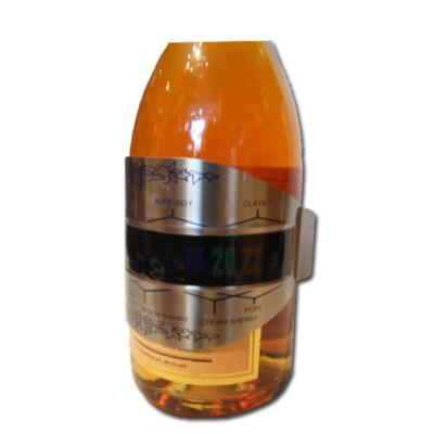 Borhőmérő palackra