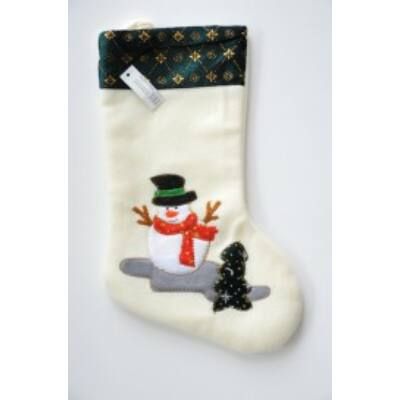 Csomag Karácsonyi csizma csizma hóember 1